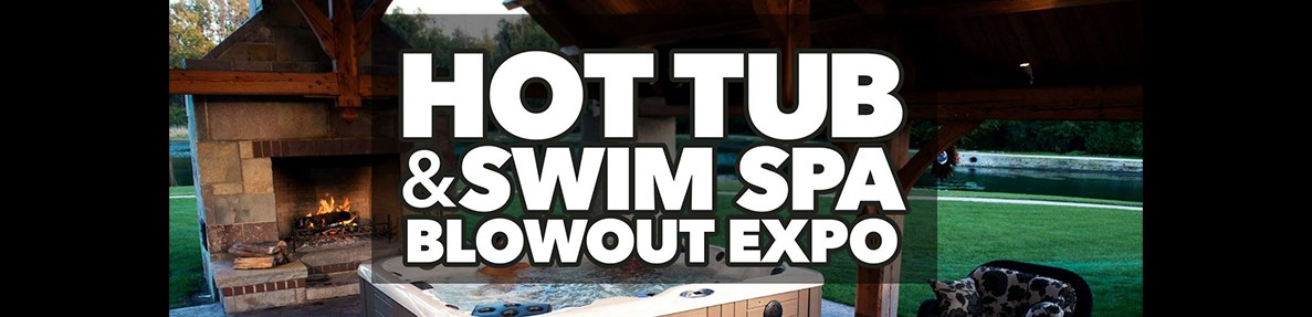 Hot Tub and Swim Spa Blowout Sale