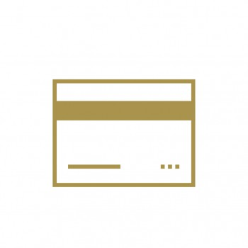 Image of credit card icon.